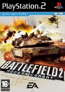 Categoria playstation 2, Capa Download Battlefield 2 Modern Combat (PS2)