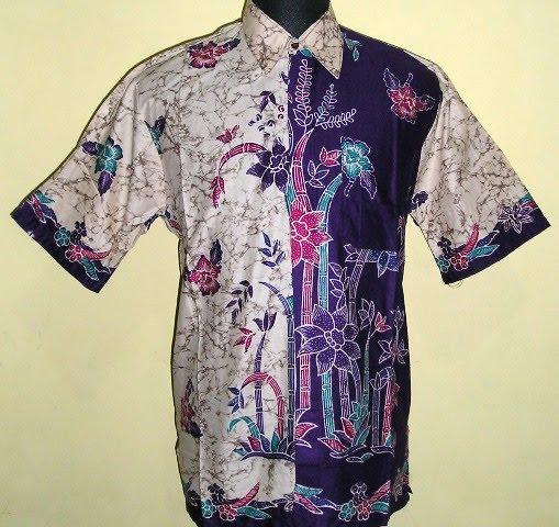Gambar model baju-baju batik pria trendy, pakaian busana batik pria