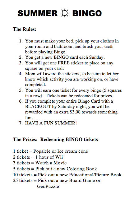 childrens bingo rules