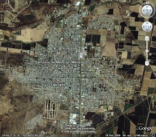 sahuayo en fotos  mapa de sahuayo