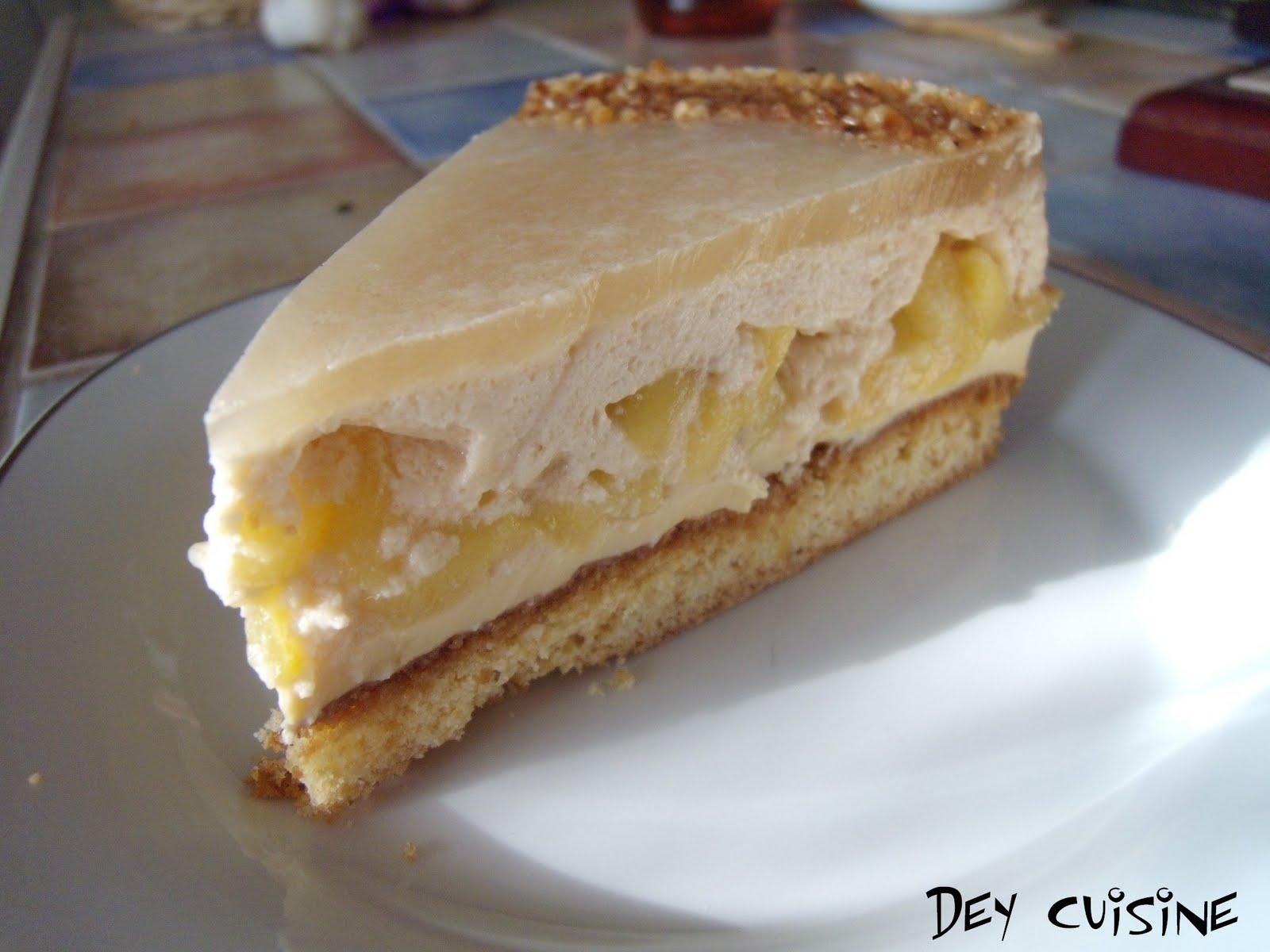 Gateau au caramel breton