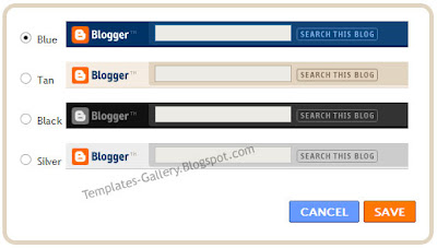 Blogspot navbar image