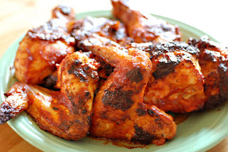 gluten-free chicken with bbq sauce