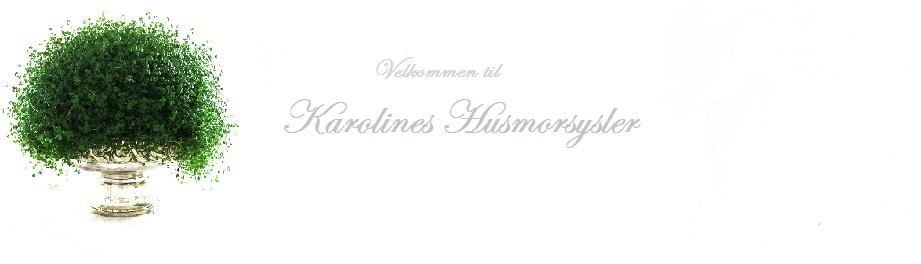 Karolines Husmorsysler