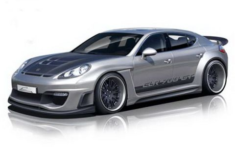 Lumma Design unveils first sketches of Porsche Panamera CLR 700GT