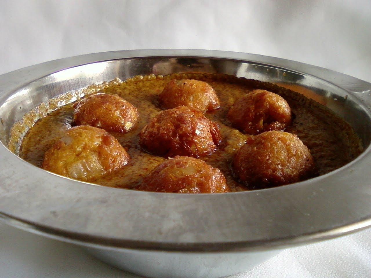 Corn kofta curry blend with spices corn kofta curry forumfinder Gallery