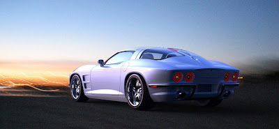 01 rossi Rossi SixtySix Fuses Classic Corvette Sting Ray with C6 Technology
