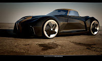 BMW Sports Couoe Design 3 BMW Sports Coupe Concept Car by Kransov Igor