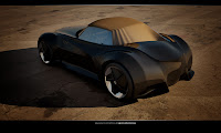 BMW Sports Couoe Design 2 BMW Sports Coupe Concept Car by Kransov Igor