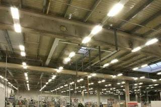 Выбор светильников для освещения производственных помещений