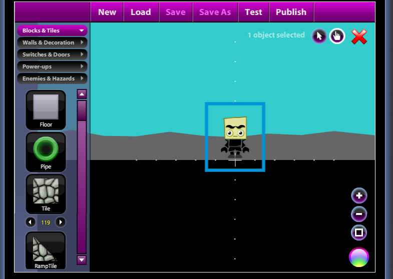 how to make a start menu in game maker