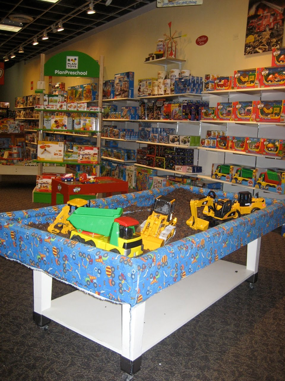 the stir crazy moms' guide to durham toyland - a train table