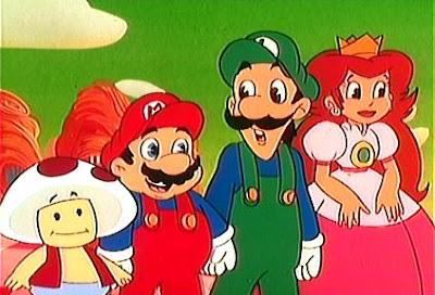 reino do cogumelo quantas e quais as séries em cartoon que foram