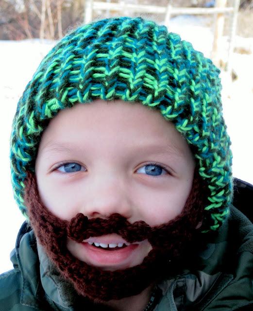 Crochet beard beanie / crochet ideas and tips - Juxtapost