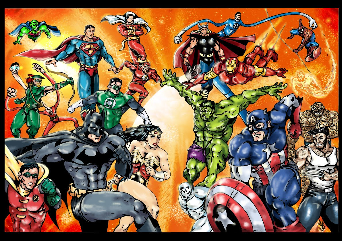descargar dc vs marvel: