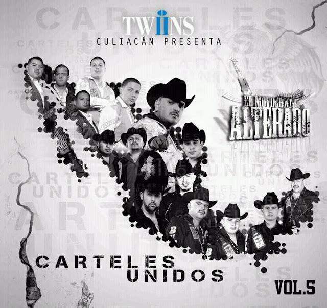 LOS TRES ROSTROS DEL MAYO ZAMBADA CARTELES+UNIDOS+VOL.5