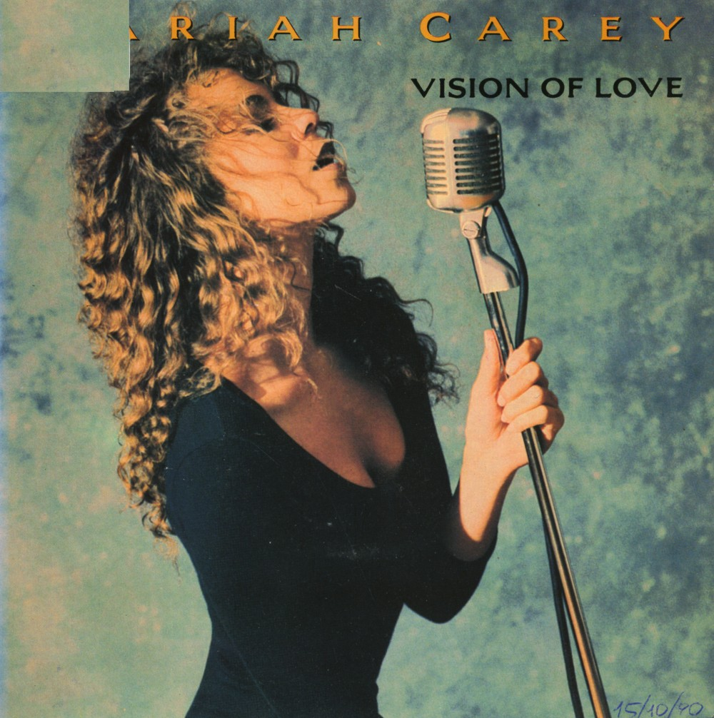 Music on vinyl: Vision of love - Mariah Carey Mariah Carey Songs