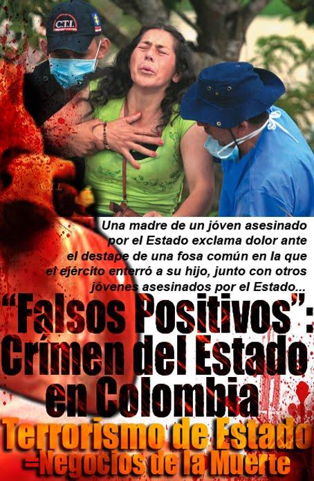"""""""Falsos Positivos"""", Crímen del Estado en Colombia"""