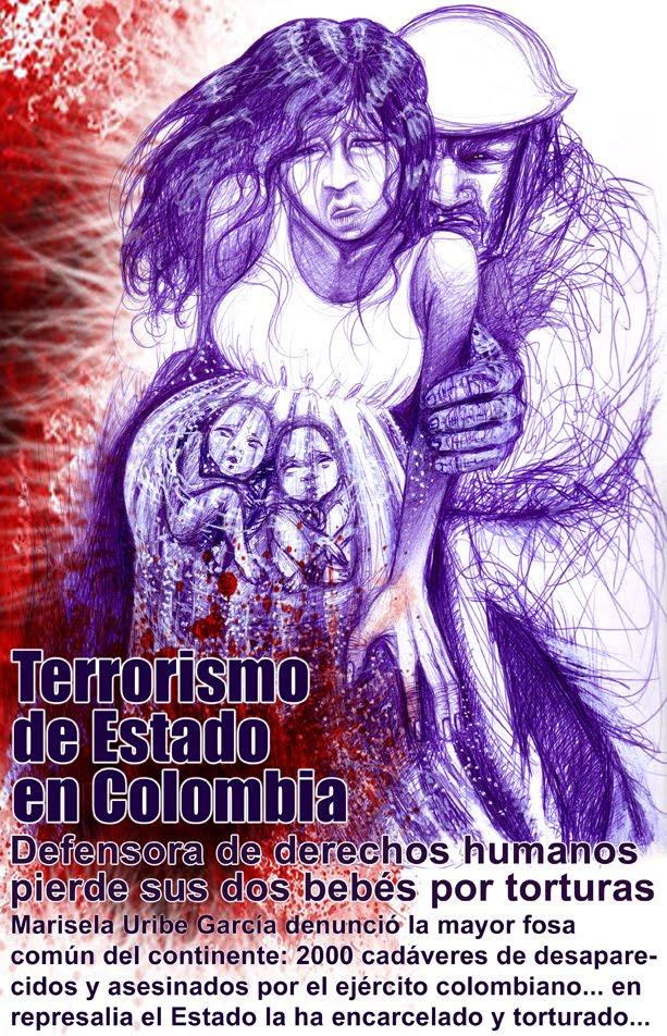 Defensora de DDHH pierde sus bebés por tortura del Estado colombiano