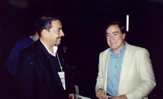 Com o pesquisador norte americano James Courant