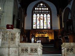 教会内部です。父親のパトリックがここで説教などを行いました。