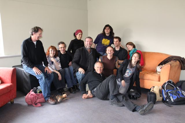 Damian & friends in Hobart Tasmania Oct 2010