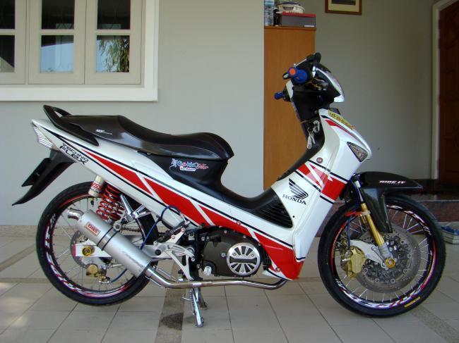 Honda Supra X 125 Modifikasi : title=