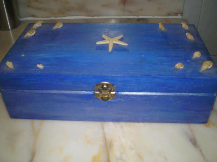 Caixa Azul Mar