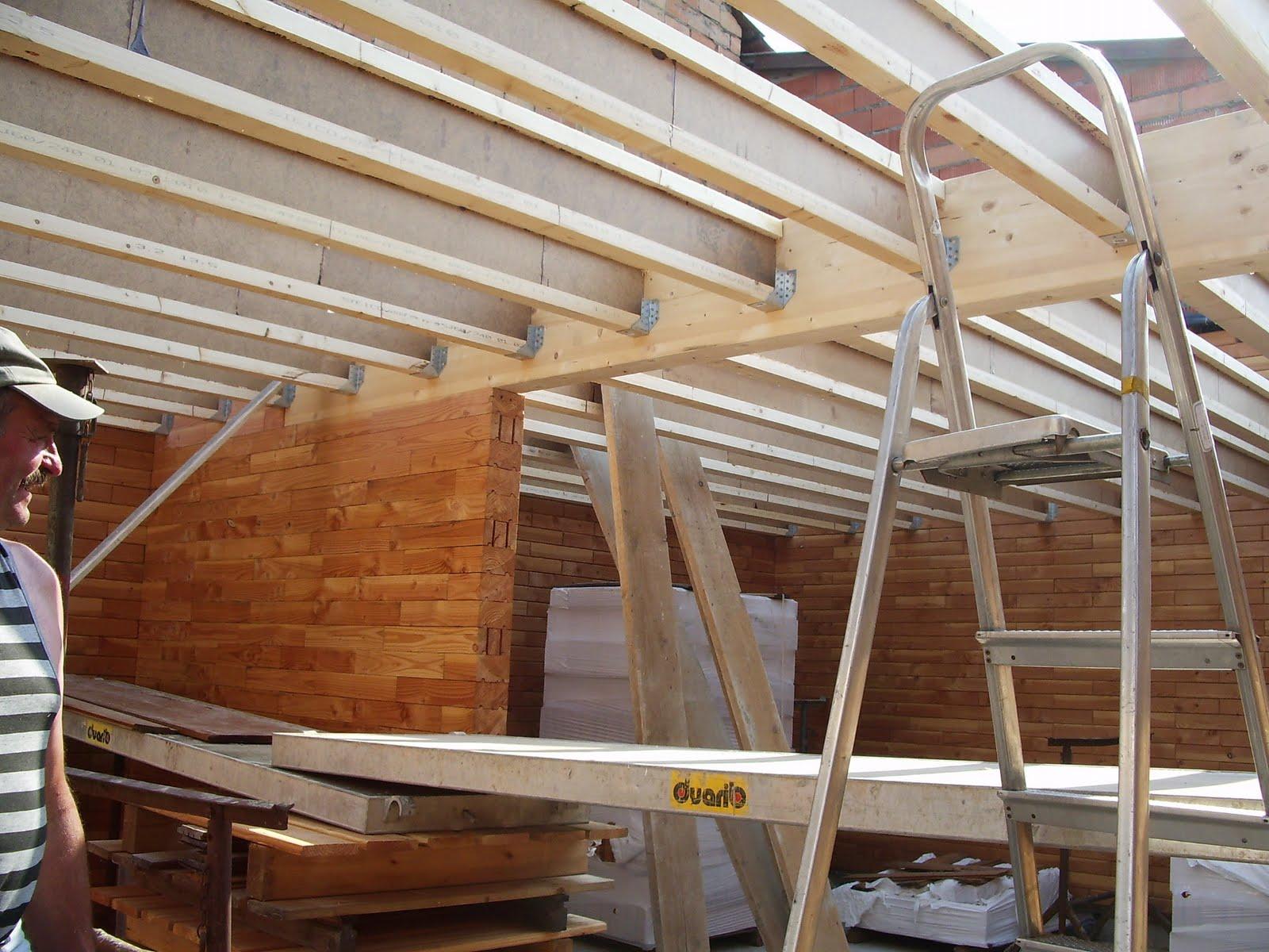 ma maison en parpaings de bois BVB Le solivage de la moitié de la  ~ Maison Parpaing Bois