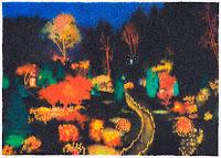 Richard Müller: Parc 12-13 détail crayon de couleur