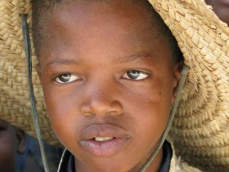 An innocent face in Mali