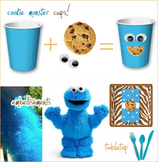 Perfect I Fell In Love When I Came Across This Cookie Monster Theme At  Www.hostesswiththemostess.com