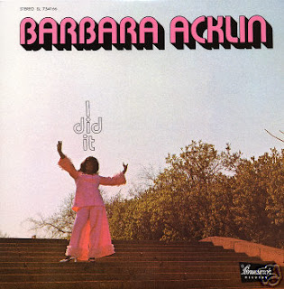 Barbara Acklin - I Did It (Brunswick 1971)