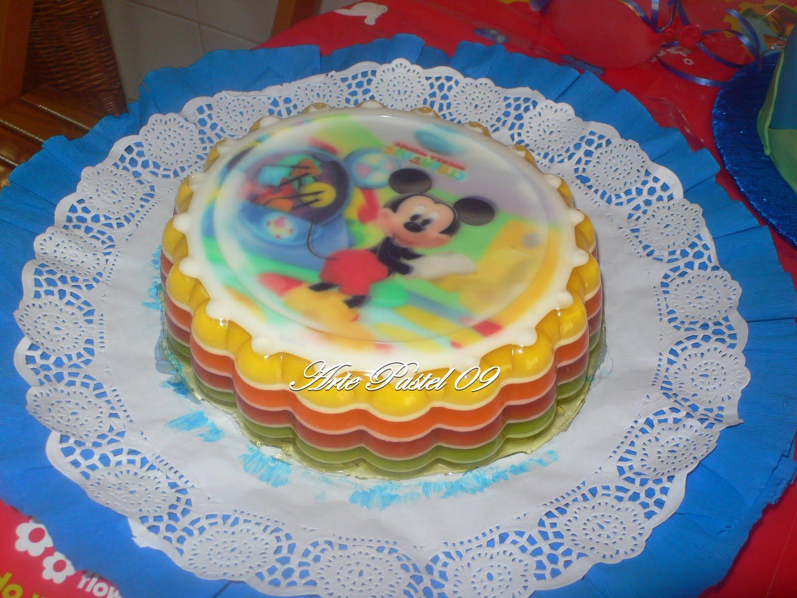tarta gelatina de colores pocoyo tarta gelatina colres didlina arte ...