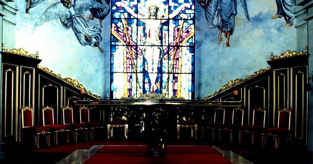 Altar sede presbiterio iglesia de la azulita edo merida for Arquitectura sacro