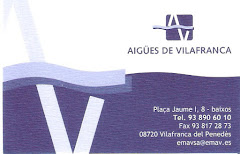 AIGÜES DE VILAFRANCA