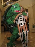 žena a želva
