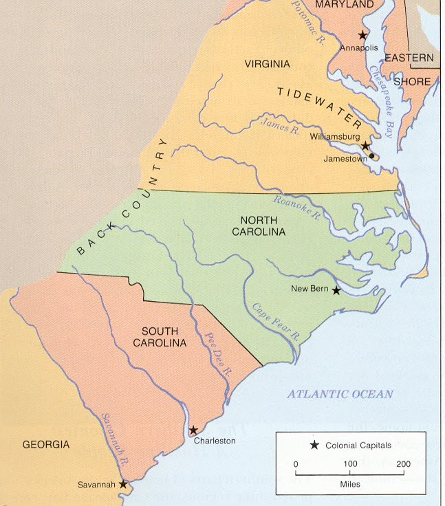 Southern Colonies Resources Southern Colonies