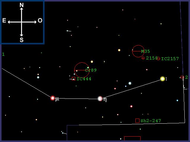 M35, cúmulo abierto en Géminis M35-01