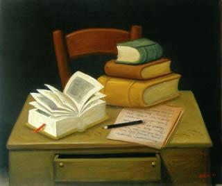 lectura el libro y las bibliotecas: