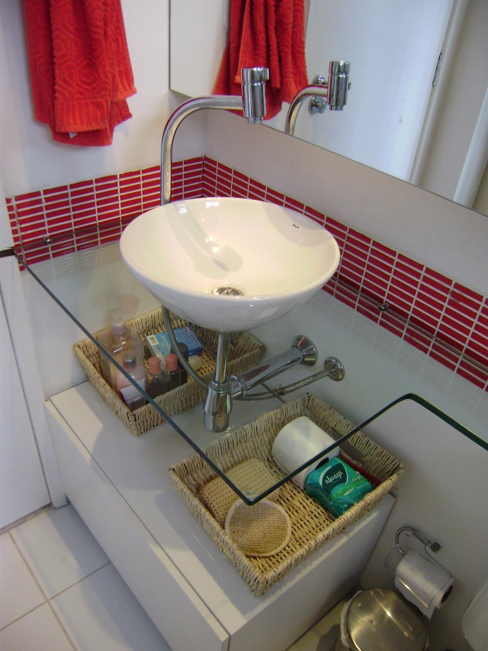 A CASA, OS CASOS Bancadas banheiro -> Armario De Banheiro Com Pia Ferreira Costa