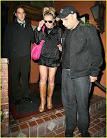 Britney Spears up skirt