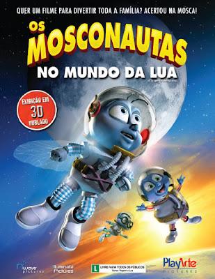 Filme Poster Os Mosconautas 3D DVDRip Xvid Dual Audio