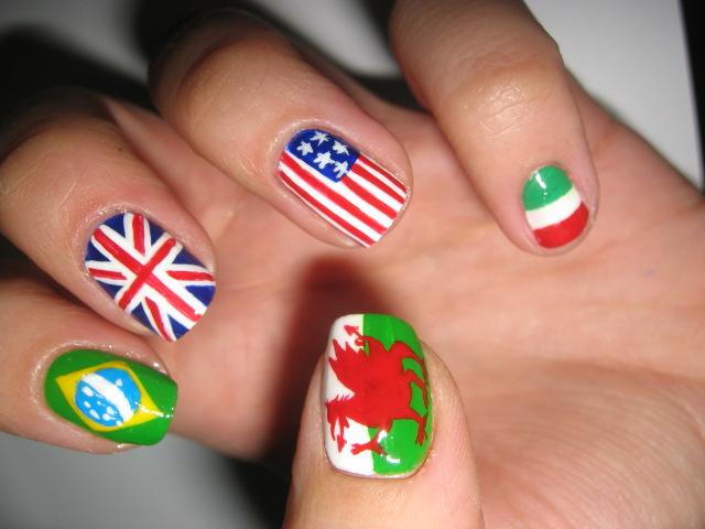 Nailart: Flags - Tanja Loves Makeup