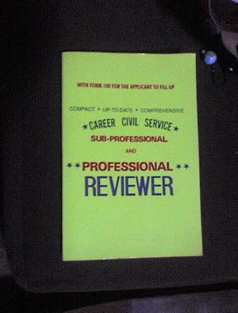 Civil Service Exam Reviewer Book Sari Saring Isip