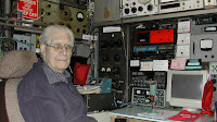 Photo of Jimmy Porter - amateur radio enthusiast (c) BBC
