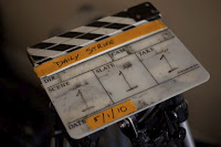 Daily Strife clapper board - photo by Karl Burke