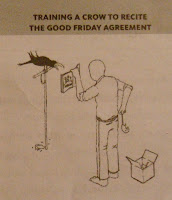 Snippet from The Vacuum - Issue 44 (December 2009) - Training a crow to recite the Good Friday Agreement