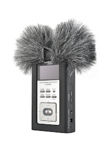 Rycote Mini Windjammer windshield for Edirol digital recorder