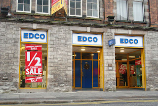 EDCO closing down sale in Belfast